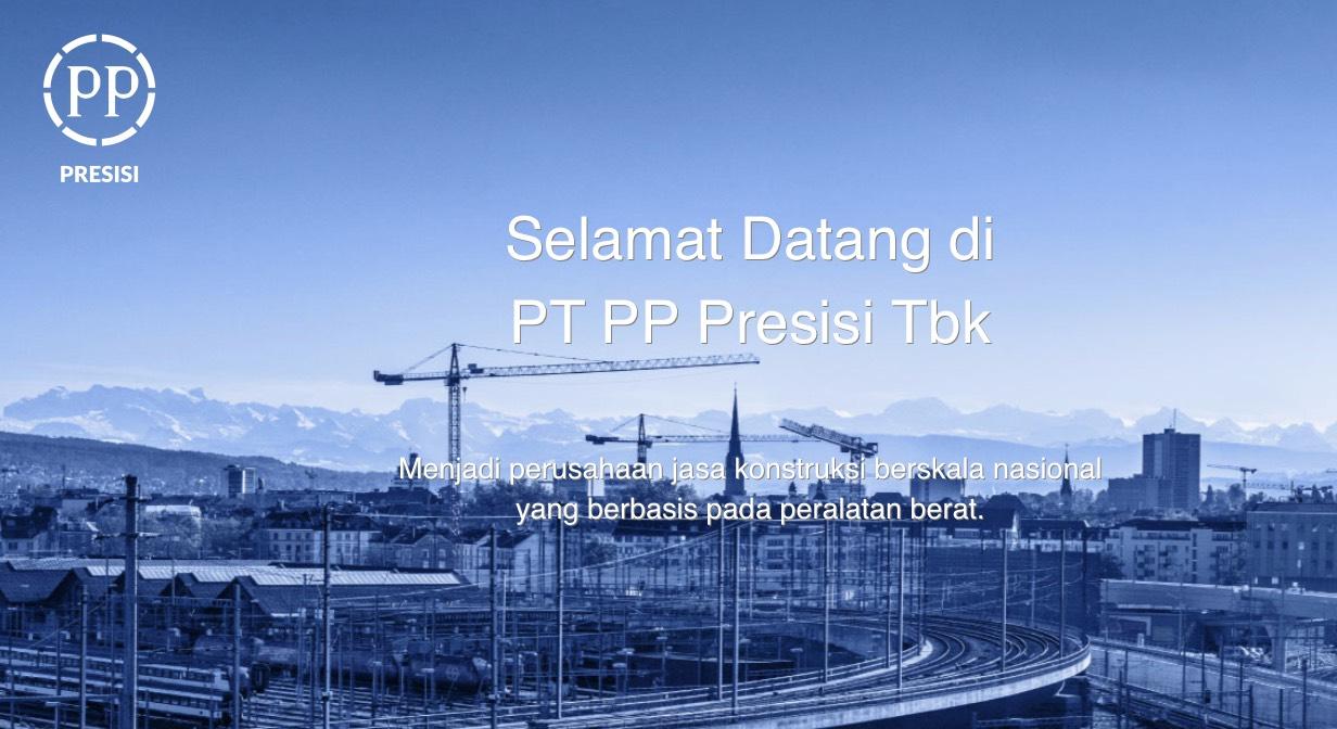 Analisa Saham PT PP Presisi Tbk (PPRE)